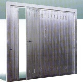 Zincate fergorautomazione - Basculante con porta pedonale prezzo ...